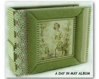 All Occasion Mini Album, Handmade Memory Album, Handmade Scrapbook, Mini Album, Handmade Photo Book, Custom Photo Album, Keepsake Album