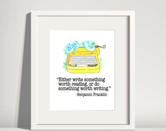 Blogger Wall Art Writer Wall Art Blogger Print Writer Print Blogger Printable Quote Print Inspirational Quote Print Blogger  Office Decor