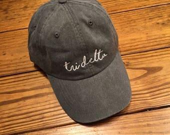Tri Delta Pigment GREEK Cap