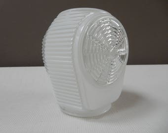 Milk Glass Lamp Shade for Vintage Vanity or Sconce.