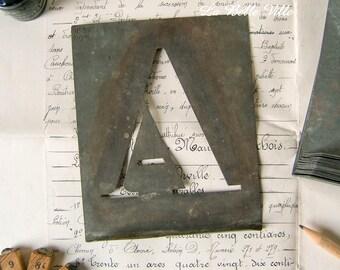 Large Zinc Letters Delectable Zinc Letter  Etsy Decorating Inspiration