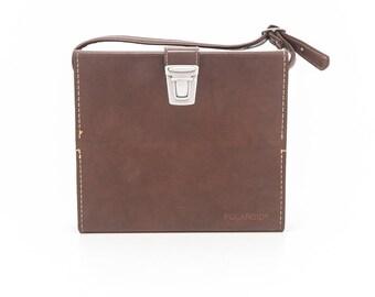 Polaroid Classic Compartment Leather Case 116 SX-70 case for folding SX70 camera