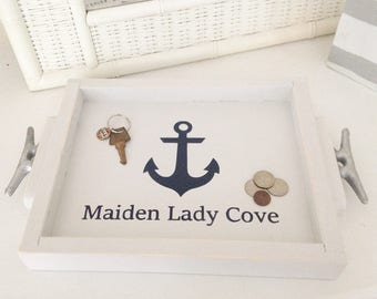 Personalized Anchor Tray