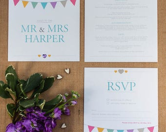 SAMPLE OF // KATE // Wedding Stationery