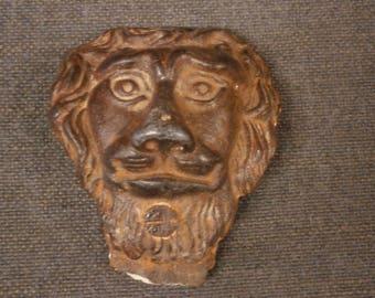 Cast Iron Gutter Embelishment, Late 18th Century - Antique