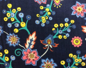 BUDS AND BERRIES 1.00 Metre by Liberty on Tana Lawn Cotton