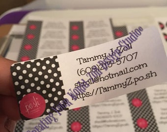 Address/Contact Info Labels for your company