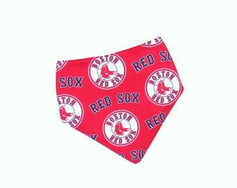 Red Sox Baby Bib | Boston Red Sox Baby | Red Sox Bibdana | Baseball Baby Bib | Baby Boy Bib | Baby Boy Bibdana | Teething Bib | Drool Bib