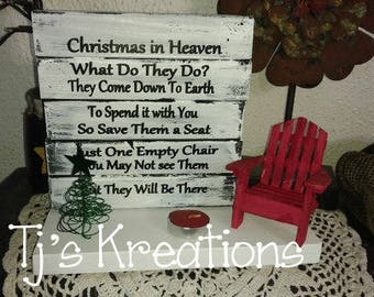 Christmas in heaven decor