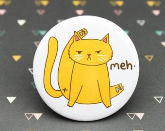 Moving SALE Funny Cat Pin, Cat Butt Pin, Funny Cat Lover Gift, Awkward Cat Pin, Cat Butt Gift, Humor Gift, Gag Gift, Kitty Butt, Angry Cat