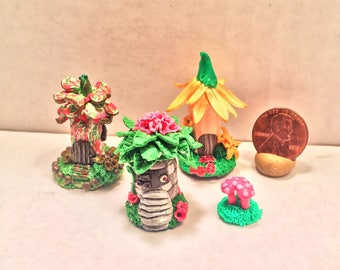 Mini Fairy Hut Collection (Wildflowers)