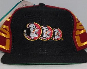 Vintage Deadstock Florida State Seminoles NCAA Snapback Hat