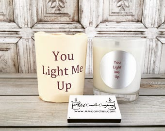 3 Candle Gift Set - Pick Three  Scented Soy Coconut Blend Wax, Valentines Candles, Wood Wick Candles, Soy Candles,