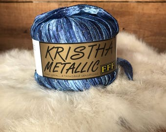 Krishta Metallic yarn by Flati FF