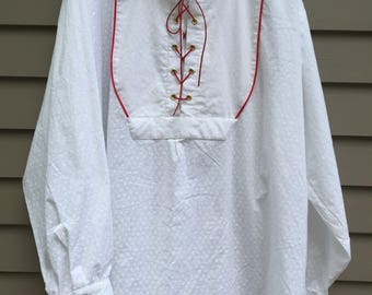Santa Renaissance style shirt