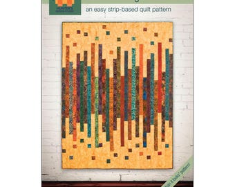 Loose Change Hunter's Design Studio Jelly Roll Friendly Quilt Modern Pattern