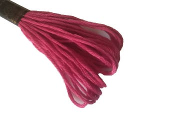 1 skein 8 m Mercerized cotton FLOSS - 383 grenadine Red