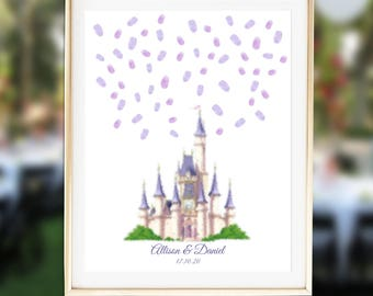 Fairytale Guest Book Alternative Fairytale Wedding Guest