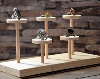 Rings display stand