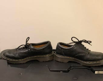 Black Doc Marten Shoes/Oxfords