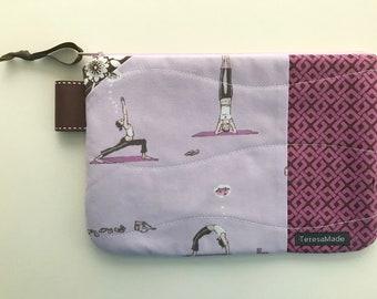 Medium Yoga Zip Pouch