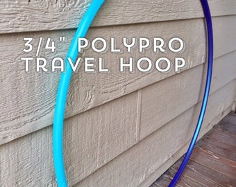 "3/4"" Travel Sectional Polypro Hula Hoop"