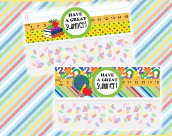 Teacher Gifts; End of the School Year; Back to School Gifts; Favor Bag Toppers; Welcome Back; Elementary School; Teacher Last day of school