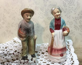 Vintage Lipco Figurines/Collectible/Man and Woman