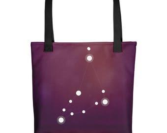 Tote bag - Zodiac Capricorn Constellation Tote Bag