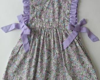 Lavender Floral Lilly Dress