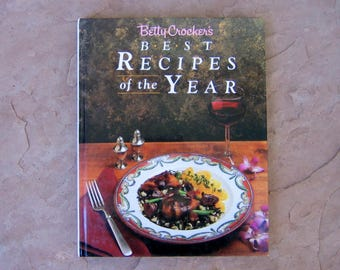 Betty Crocker's Best Recipes of the Year, Betty Crocker Cookbook, 1989 Vintage Cook Book
