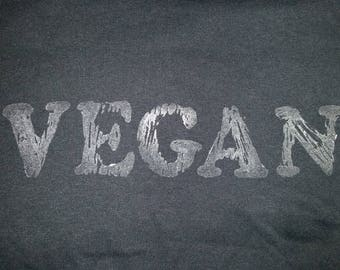 """The """"Vegan"""" T-shirt (Glow-in-the-dark)"""