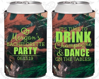 Its time to drink champagne and dance on the tables, Printed Bachelorette Party Decorations, Bachelorette Ideas (60154)