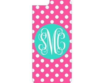 Personalized iPhone Case, Monogrammed iPhone Case, Custom iPhone case Fits iPhone6, and oiPhone 6S