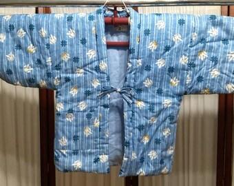 Blue Usagi Children's Hanten Coat