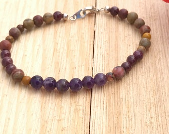 Clearance Amethyst bracelet with free shipping