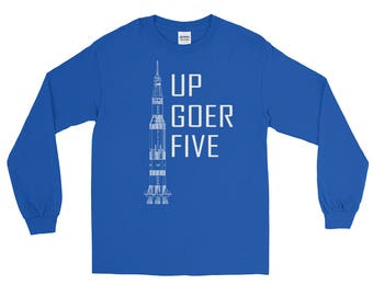 Up Goer Five / Saturn V Rocket Shirt | Apollo | T-Shirt | Saturn Five