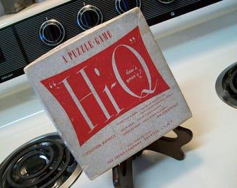 Hi-Q A Puzzle Game, Hi-Q game, vintage IQ game, IQ puzzle game