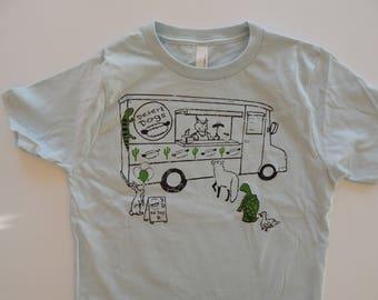 KIDS Food truck T-shirt, Size XS-XL