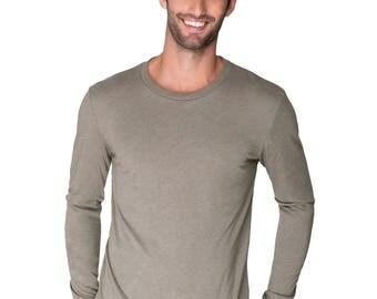 Men's/Unisex Long sleeve Tri-blend t-shirt, Size XS-XXL-Choose design