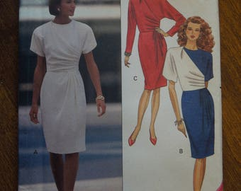 Butterick 5259, sizes 6-10, dress, misses, womens, UNCUT sewing pattern, craft supplies