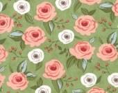 Farmer's Daughter - Painted Bouquet Grass by Vanessa Goertzen of Lella Boutique for Moda, 1/2 yard, 5050 15