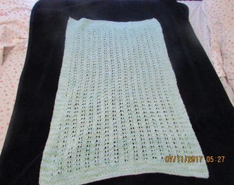 Baby Blanket  39             x 27 inches