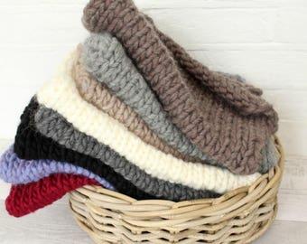 Newborn Posing Mini Blanket, Photography Blanket, Bump Blanket, Newborn Basket Prop, Newborn Prop Set, Chunky Knit Blanket, Basket Stuffer