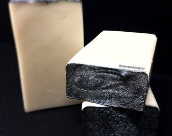 White Widow Handcrafted Cold Process Silk Soap -  Tussah Silk Soap, White Gardenia, Floral Soap, White Soap