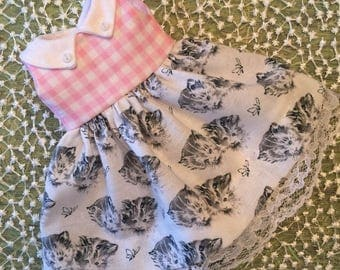Gingham Kitty Dress
