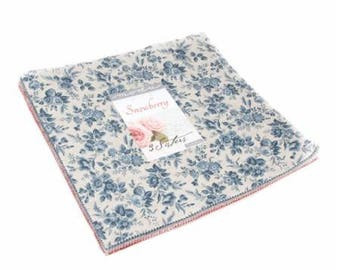 """Snowberry Layer Cake (40 - 10"""" x 10"""" Squares) designed by 3 Sisters for Moda Fabrics"""
