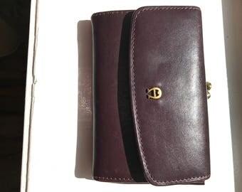 Vintage Etienne Aigner Brown Leather Ladies Wallet