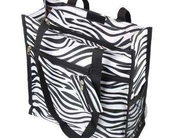 Zebra Tote Bag! ~ Coin Purse included.