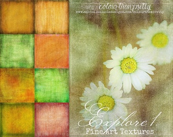 50% OFF! Explore 1 {Fine Art Textures} Texture Overlays and Backgrounds